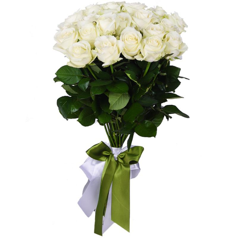 Купить белых розы с доставкой по беларуси, свадебного букета рыжей